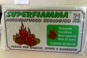 Accenditori Coprifuoco Ecologici Naturali Confezione 24 Cubetti